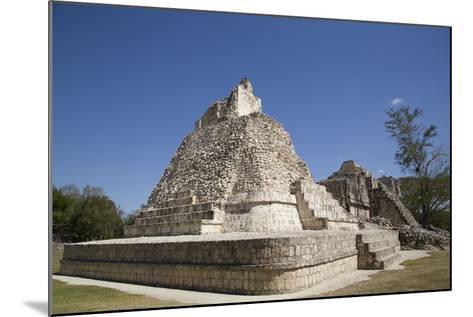 Dzibilnocac (Painted Vault) Temple-Richard Maschmeyer-Mounted Photographic Print