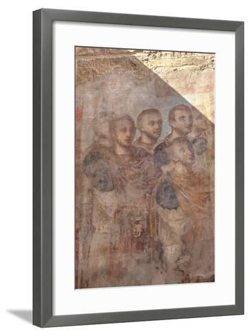 Paintings of Roman Emperors, Hypostyle Hall, Luxor Temple-Richard Maschmeyer-Framed Art Print