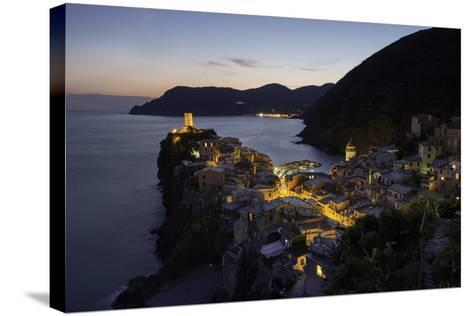 Vernazza in the Evening, Cinque Terre, UNESCO World Heritage Site, Liguria, Italy, Europe-Gavin Hellier-Stretched Canvas Print