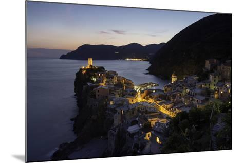 Vernazza in the Evening, Cinque Terre, UNESCO World Heritage Site, Liguria, Italy, Europe-Gavin Hellier-Mounted Photographic Print