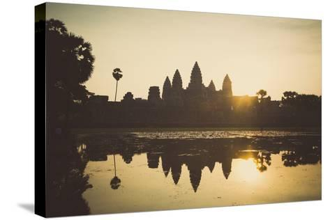 Angkor Wat Temple, Angkor, UNESCO World Heritage Site, Cambodia, Indochina, Southeast Asia, Asia-Yadid Levy-Stretched Canvas Print