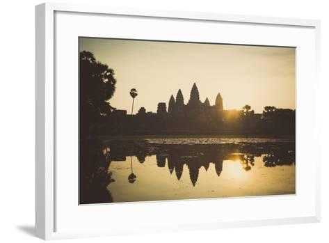 Angkor Wat Temple, Angkor, UNESCO World Heritage Site, Cambodia, Indochina, Southeast Asia, Asia-Yadid Levy-Framed Art Print