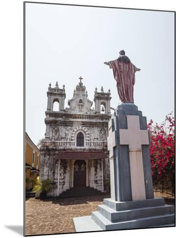 Old Portuguese Church in Grounds of Fort Tiracol, Goa, India, Asia-Yadid Levy-Mounted Photographic Print