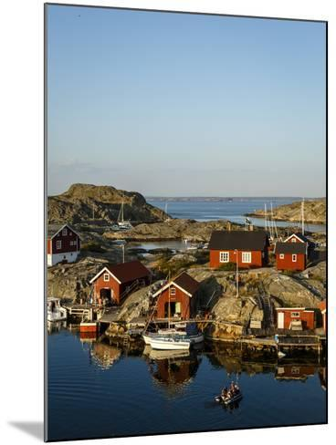 Vaderoarna (The Weather Islands) Archipelago, Bohuslan Region, West Coast, Sweden-Yadid Levy-Mounted Photographic Print