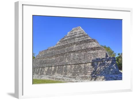 Temple I, Chaccoben, Mayan Archaeological Site-Richard Maschmeyer-Framed Art Print