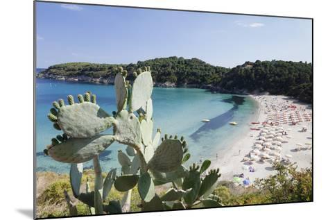 Fetovaia Beach, Island of Elba, Livorno Province, Tuscany, Italy-Markus Lange-Mounted Photographic Print