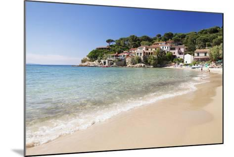 Beach at Scaglieri Bay, Island of Elba, Livorno Province, Tuscany, Italy-Markus Lange-Mounted Photographic Print