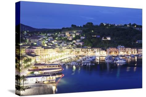Porto Azzurro, Island of Elba, Livorno Province, Tuscany, Italy-Markus Lange-Stretched Canvas Print