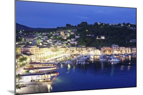 Porto Azzurro, Island of Elba, Livorno Province, Tuscany, Italy-Markus Lange-Mounted Photographic Print