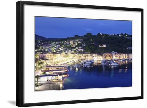 Porto Azzurro, Island of Elba, Livorno Province, Tuscany, Italy-Markus Lange-Framed Art Print