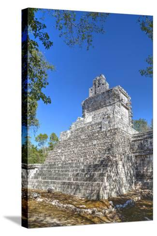 Tabasqueno, Mayan Archaeological Site, Chenes Style, Campeche, Mexico, North America-Richard Maschmeyer-Stretched Canvas Print