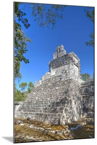 Tabasqueno, Mayan Archaeological Site, Chenes Style, Campeche, Mexico, North America-Richard Maschmeyer-Mounted Photographic Print