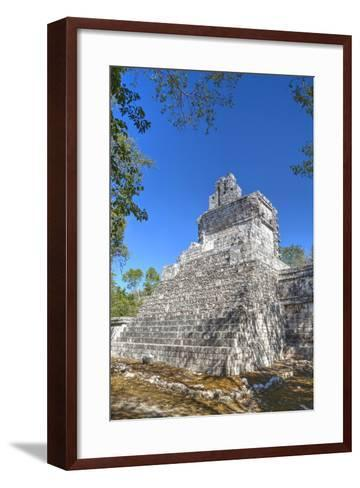 Tabasqueno, Mayan Archaeological Site, Chenes Style, Campeche, Mexico, North America-Richard Maschmeyer-Framed Art Print