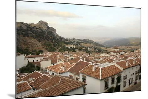 View over Grazalema Village at Parque Natural Sierra De Grazalema, Andalucia, Spain, Europe-Yadid Levy-Mounted Photographic Print
