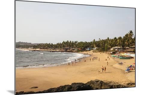 View over South Anjuna Beach, Goa, India, Asia-Yadid Levy-Mounted Photographic Print