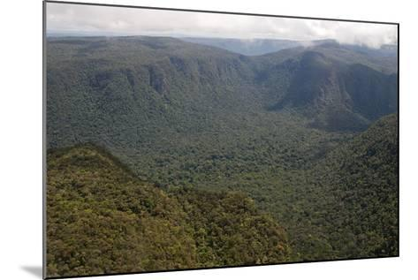 Aerial View of Mountainous Rainforest in Guyana, South America-Mick Baines & Maren Reichelt-Mounted Photographic Print
