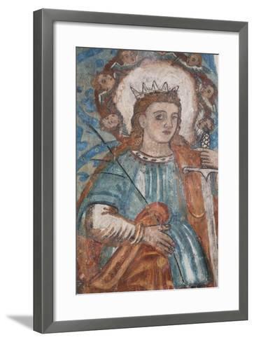 A 16th Century Fresco, Church of San Bernadino De Siena and Convent of Sisal, Founded in 1552-Richard Maschmeyer-Framed Art Print