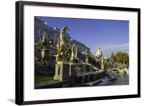 Petrodvorets (Peterhof) (Summer Palace), Near St. Petersburg, Russia-Gavin Hellier-Framed Art Print