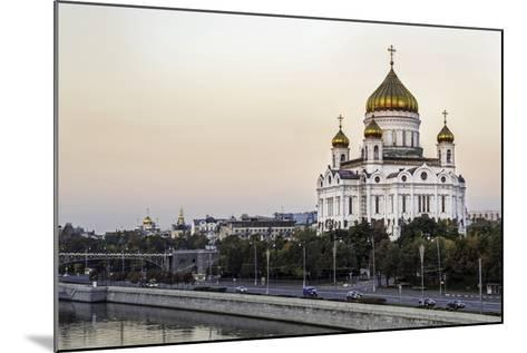 Cathedral of Christ the Saviour and Moskva River, Moscow, Russia-Gavin Hellier-Mounted Photographic Print