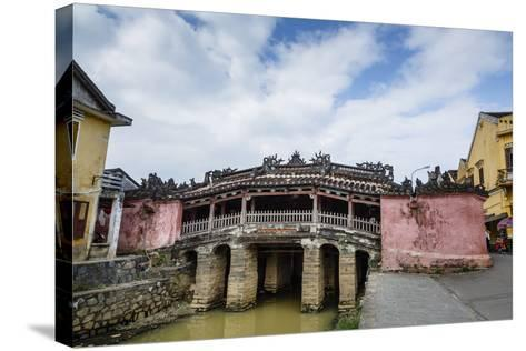 Japanese Covered Bridge, UNESCO World Heritage Site, Hoi An, Vietnam, Indochina-Yadid Levy-Stretched Canvas Print