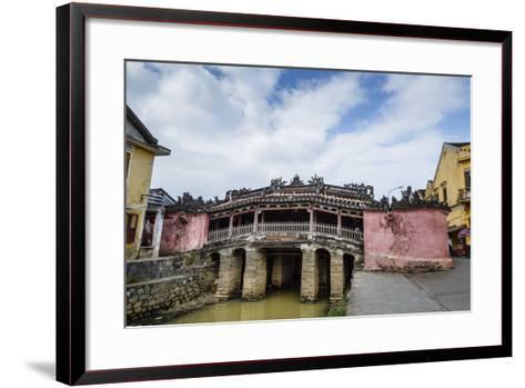 Japanese Covered Bridge, UNESCO World Heritage Site, Hoi An, Vietnam, Indochina-Yadid Levy-Framed Art Print