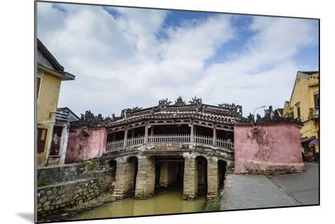 Japanese Covered Bridge, UNESCO World Heritage Site, Hoi An, Vietnam, Indochina-Yadid Levy-Mounted Photographic Print