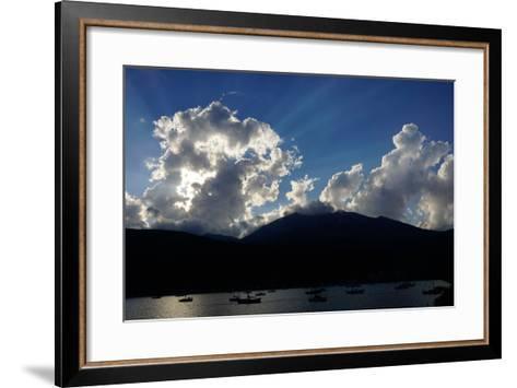 Clouds Near Nidri, Lefkada (Lefkas), Greek Islands, Ionian Sea, Greece-Robert Harding-Framed Art Print