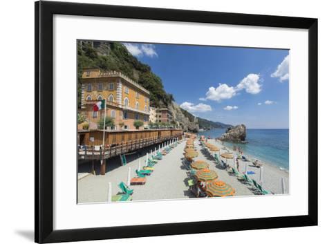 Monterosso Al Mare, Cinque Terre, UNESCO World Heritage Site, Liguria, Italy, Europe-Gavin Hellier-Framed Art Print