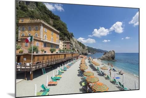 Monterosso Al Mare, Cinque Terre, UNESCO World Heritage Site, Liguria, Italy, Europe-Gavin Hellier-Mounted Photographic Print