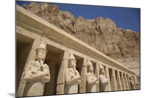 Statues of Osiris, Deir-El-Bahri (Hatshepsut's Temple), West Bank-Richard Maschmeyer-Mounted Photographic Print