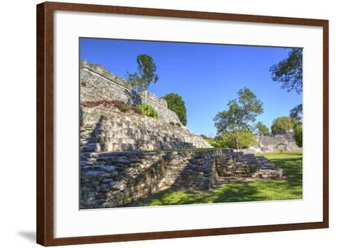 Temple of the King, Kohunlich, Mayan Archaeological Site, Quintana Roo, Mexico, North America-Richard Maschmeyer-Framed Art Print