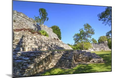 Temple of the King, Kohunlich, Mayan Archaeological Site, Quintana Roo, Mexico, North America-Richard Maschmeyer-Mounted Photographic Print