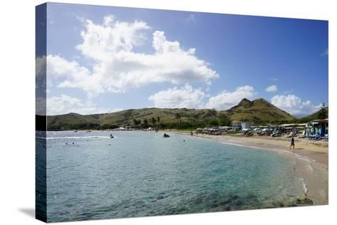 Lion Rock Beach, St. Kitts, St. Kitts and Nevis-Robert Harding-Stretched Canvas Print