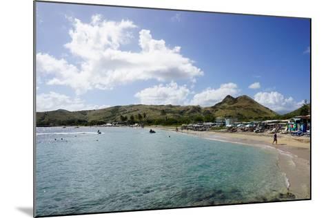 Lion Rock Beach, St. Kitts, St. Kitts and Nevis-Robert Harding-Mounted Photographic Print