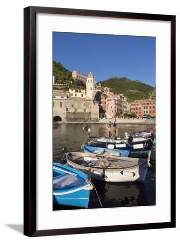 Vernazza, Cinque Terre, UNESCO World Heritage Site, Liguria, Italy, Europe-Gavin Hellier-Framed Art Print