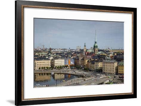 Skyline of Stockholm, Sweden, Scandinavia, Europe-Yadid Levy-Framed Art Print