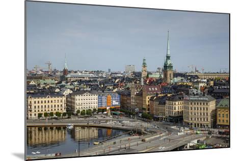 Skyline of Stockholm, Sweden, Scandinavia, Europe-Yadid Levy-Mounted Photographic Print