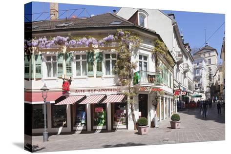 Pedestrian Area, Baden-Baden, Black Forest, Baden-Wurttemberg, Germany, Europe-Markus Lange-Stretched Canvas Print