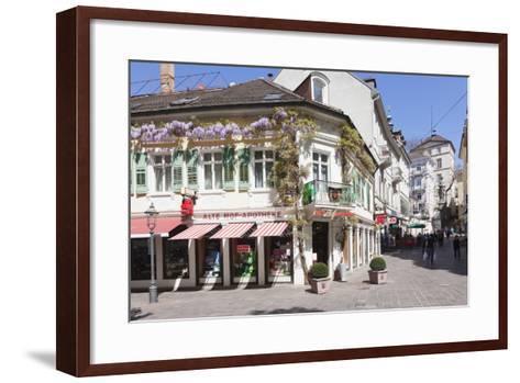 Pedestrian Area, Baden-Baden, Black Forest, Baden-Wurttemberg, Germany, Europe-Markus Lange-Framed Art Print