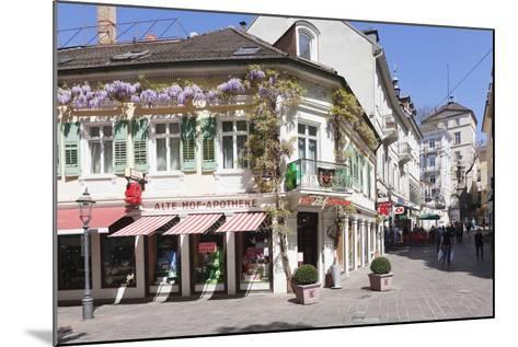 Pedestrian Area, Baden-Baden, Black Forest, Baden-Wurttemberg, Germany, Europe-Markus Lange-Mounted Photographic Print