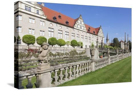 Schloss Weikersheim, Weikersheim, Romantische Strasse (Romantic Road)-Markus Lange-Stretched Canvas Print