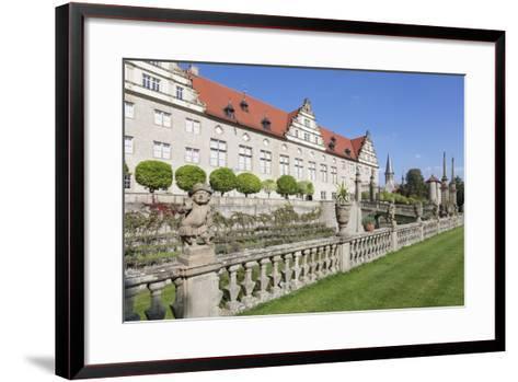 Schloss Weikersheim, Weikersheim, Romantische Strasse (Romantic Road)-Markus Lange-Framed Art Print