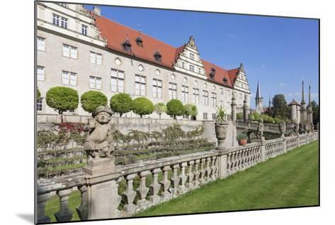 Schloss Weikersheim, Weikersheim, Romantische Strasse (Romantic Road)-Markus Lange-Mounted Photographic Print