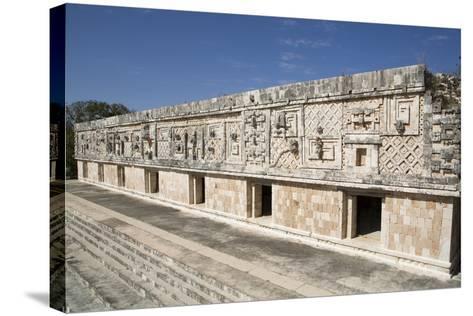Nuns Quadrangle, Uxmal, Mayan Archaeological Site, Yucatan, Mexico, North America-Richard Maschmeyer-Stretched Canvas Print