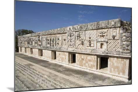 Nuns Quadrangle, Uxmal, Mayan Archaeological Site, Yucatan, Mexico, North America-Richard Maschmeyer-Mounted Photographic Print