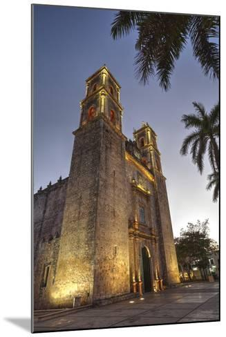 Cathedral De San Gervasio, Completed in 1570, Valladolid, Yucatan, Mexico, North America-Richard Maschmeyer-Mounted Photographic Print