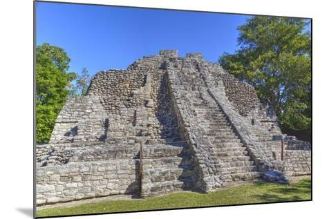 Temple I, Chaccoben, Mayan Archaeological Site-Richard Maschmeyer-Mounted Photographic Print