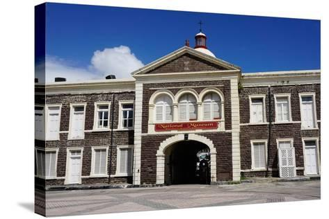 National Museum, Basseterre, St. Kitts-Robert Harding-Stretched Canvas Print