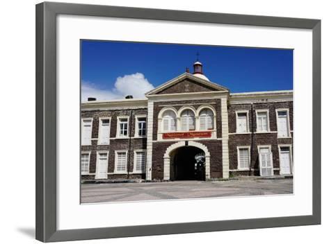 National Museum, Basseterre, St. Kitts-Robert Harding-Framed Art Print