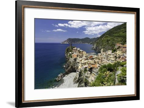 Vernazza, Cinque Terre, UNESCO World Heritage Site, Liguria, Italy, Europe-Gavin Hellier-Framed Art Print